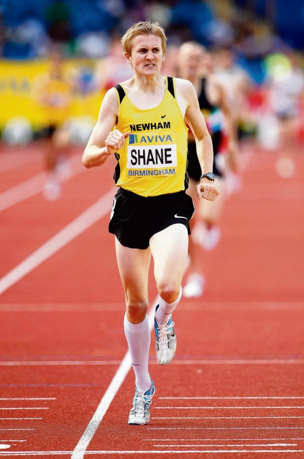 Southend Standard: James Shane: Was in action in the 1,500m