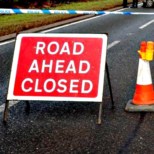 Road accident closes one lane of A130 in Rayleigh