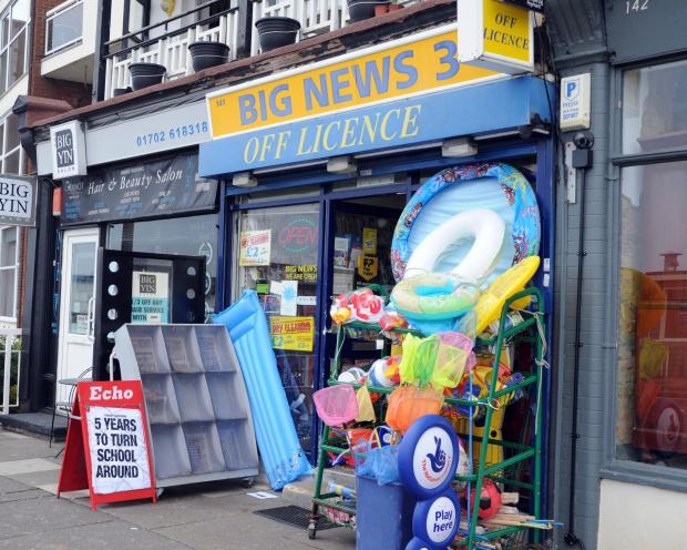 Armed robbery at newsagents