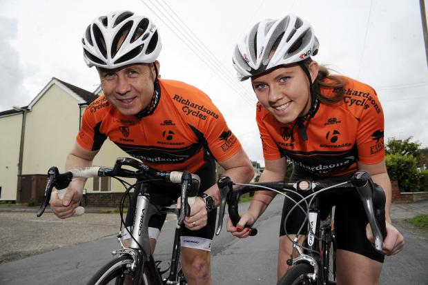Dynamic duo – John and Brooke Smith are both facing testing times in the saddle