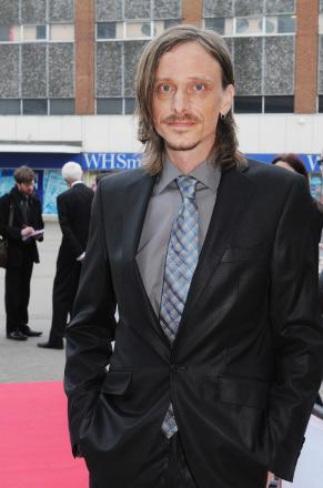 Mackenzie Crook arriving at the Southend Film Festival
