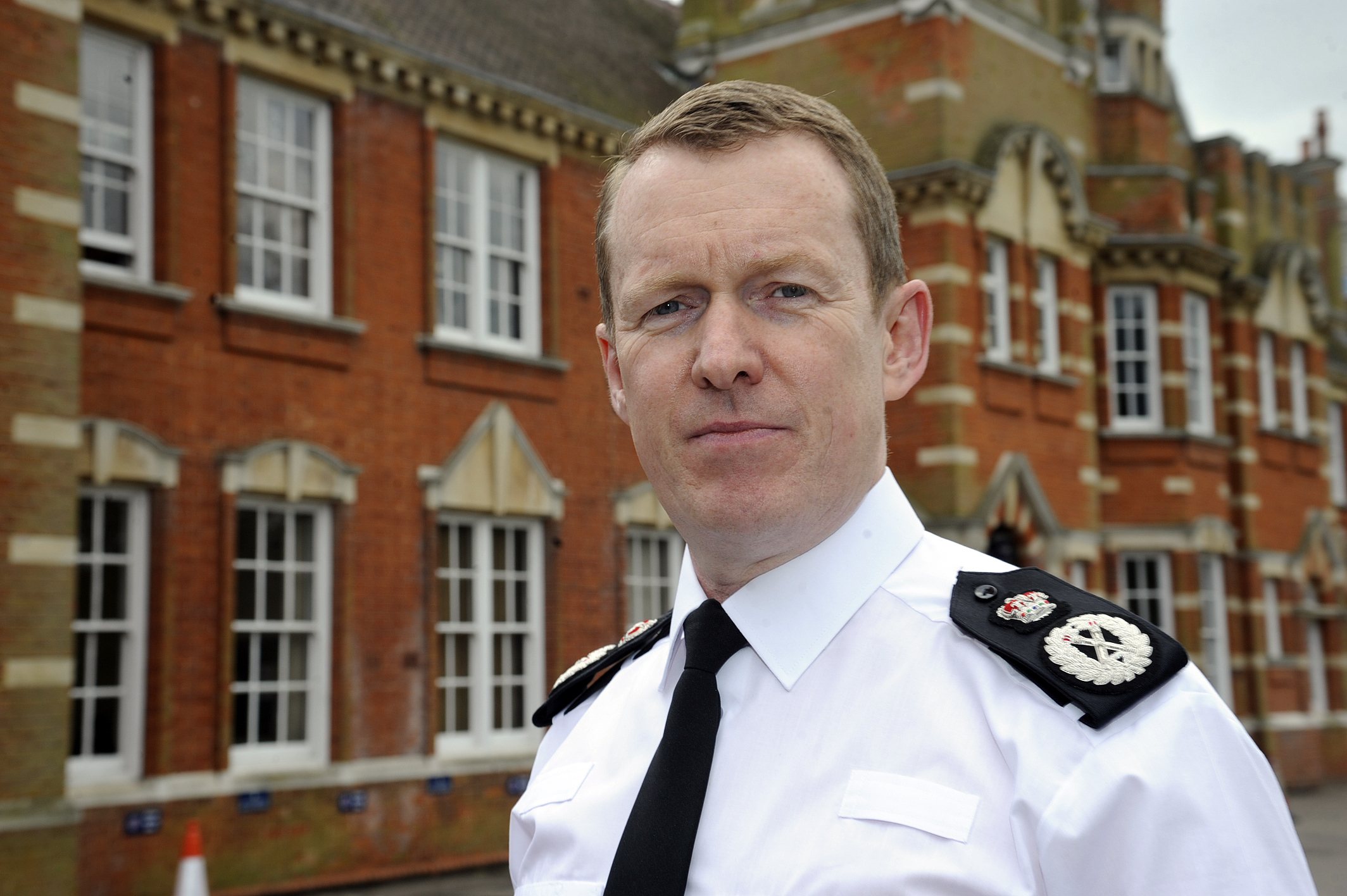 Chief Constable Stephen Kavanagh was the first man on the scene