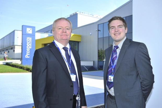 Southend Standard: Major boost to courses at Prospects College