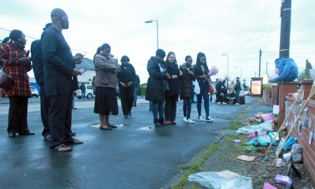 Family hold vigil at scene of fatal stabbing in Braintree