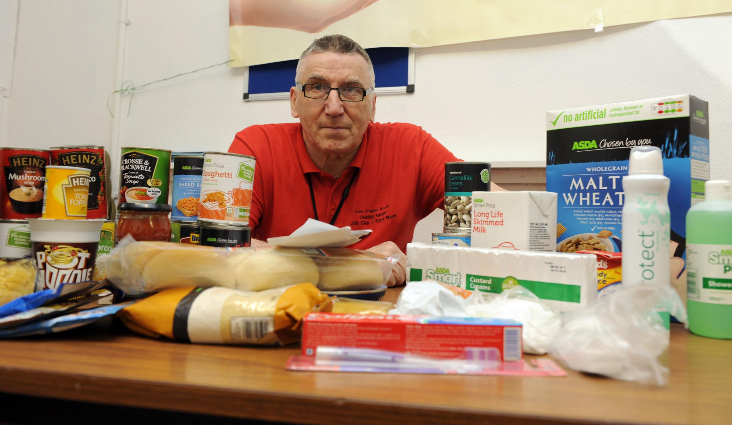 Four-fold increase in food bank needy