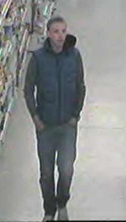 Basildon toothbrush thief wanted by police