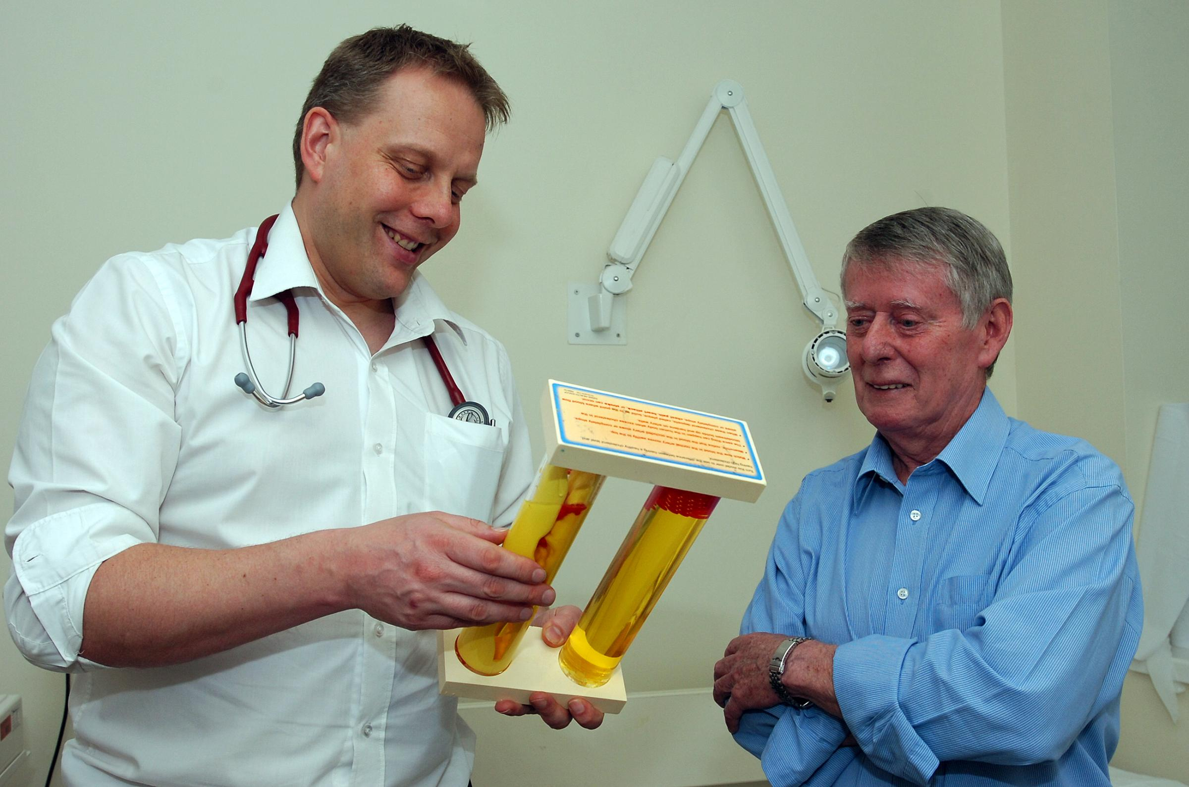Recovering from a mini-stroke - Peter McCarthy gets advice from consultant Paul Guyler after his own health scare