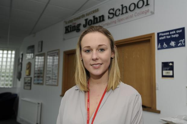 USA here I come – King John student Ellen Binnington, of Whiteways, Eastwood, has just got a place at summer school at Yale University