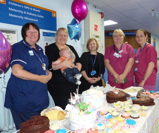 A family's thank you that made nurses' day