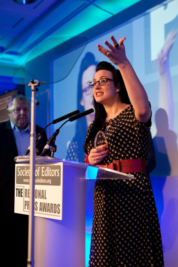 Southend Standard: Sadie Hasler - columnist of the year