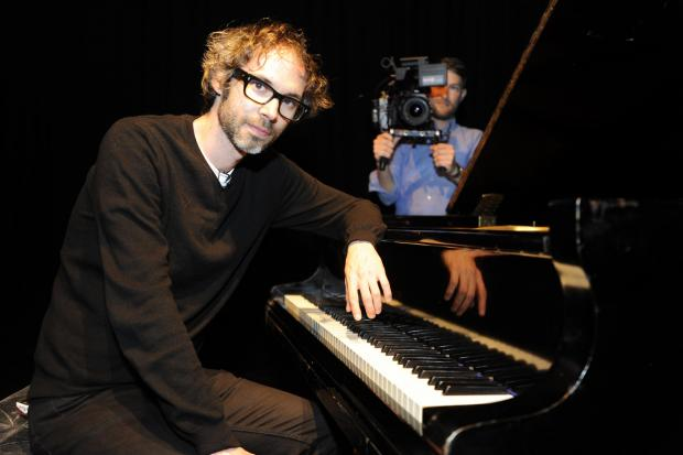 On a mission – classical pianist James Rhodes held a concert at the Towngate Theatre which was filmed for a Channel 4 programme