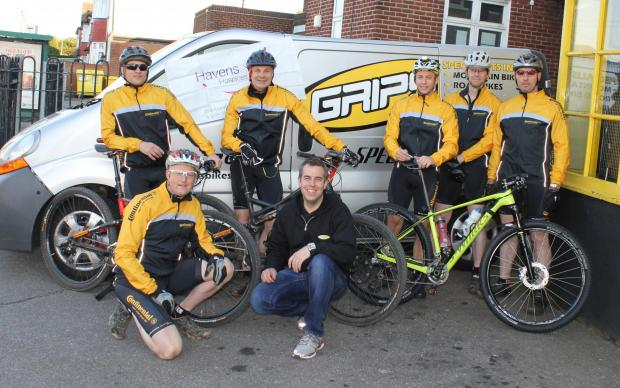 Cyclists with a cause – Grips Riders are raising money for local