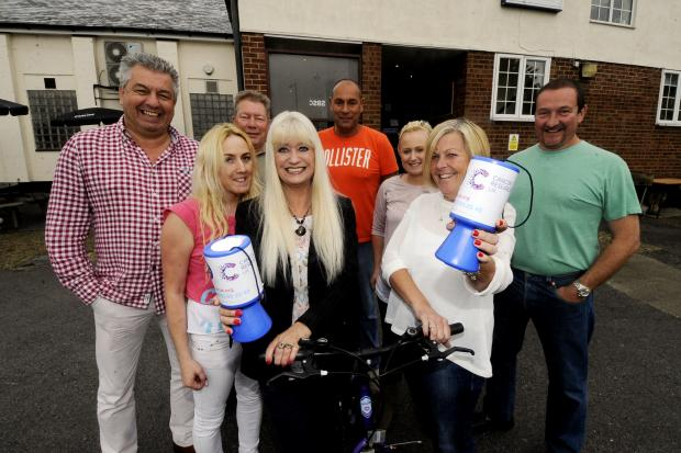 Pedal-powered pub crawl raises £1,000