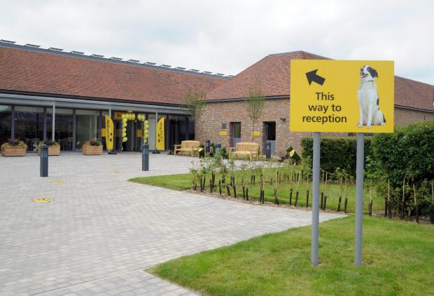 The Dogs Trust centre, in Nevendon Road, Wickford