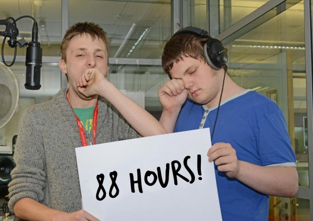 Students look to have smashed world record for radio show