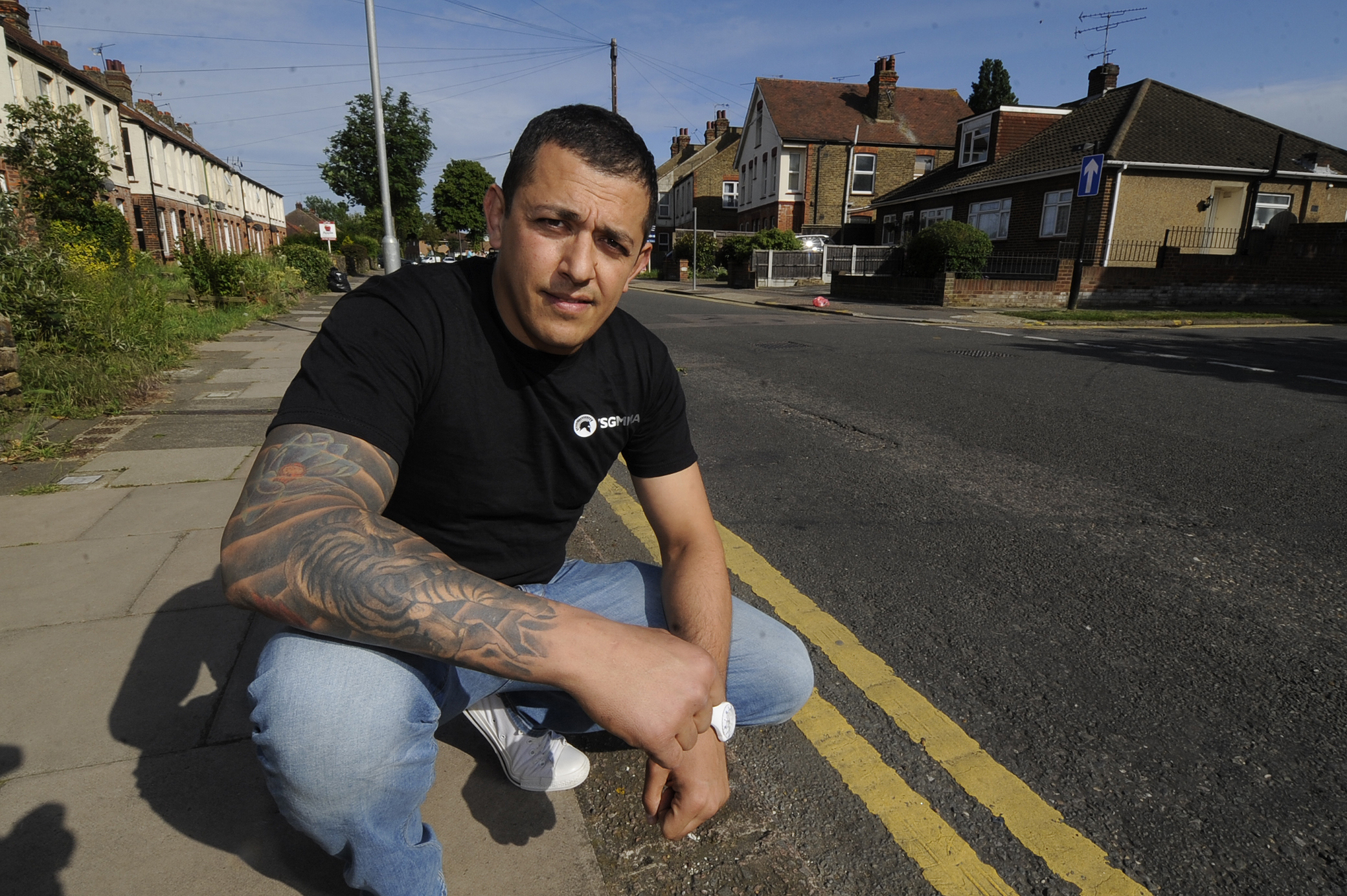 Dan a hero again after rushing to aid of sick man lying in the road
