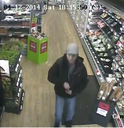 Police trace this man after meat theft