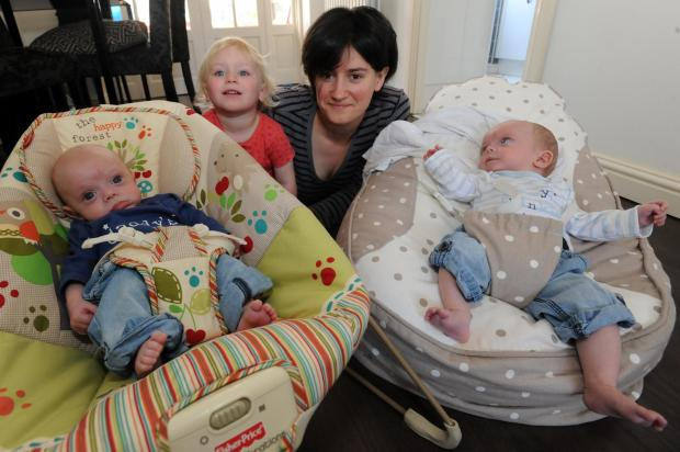 Southend Standard: Babies milestone after amazing operation in the womb