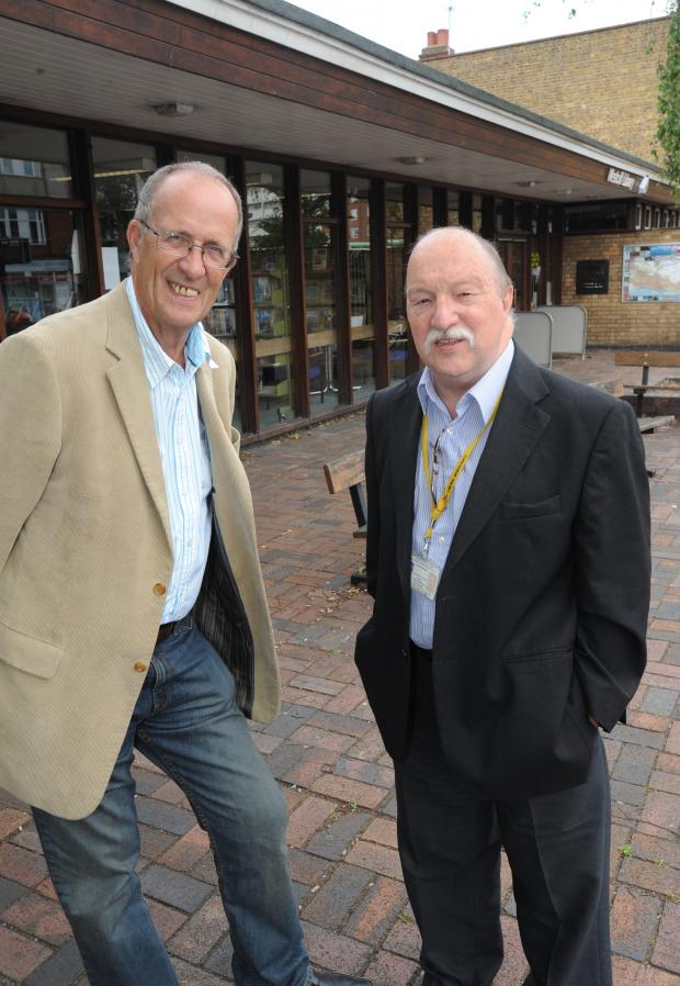 Southend Standard: New plans - Ron Woodley and Graham Longley