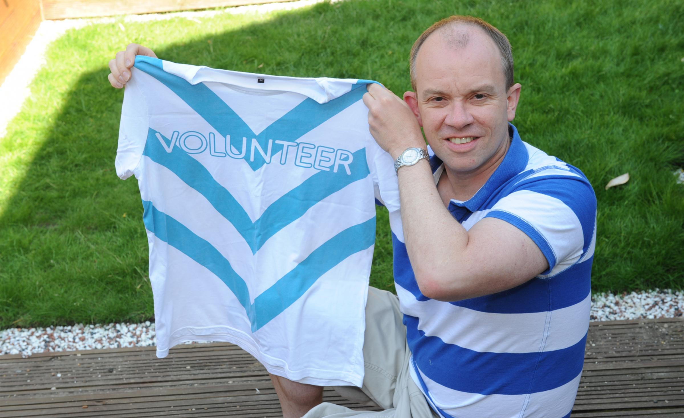 Duncan Whitehead wants others to volunteer