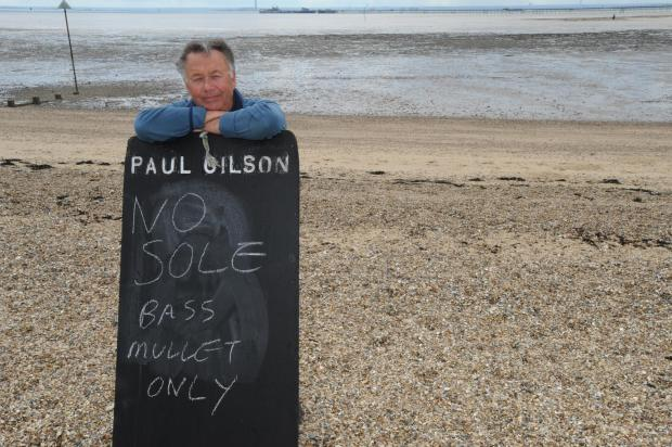 Southend Standard: Paul Gilson, co-chairman of Leigh and Southend Fishermen's Association