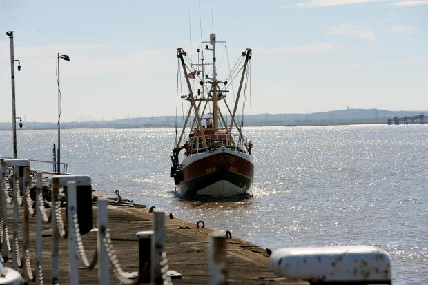 Southend Standard: Fishing survey vessel