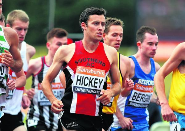Adam Hickey was crowned Southend's track athlete of the year