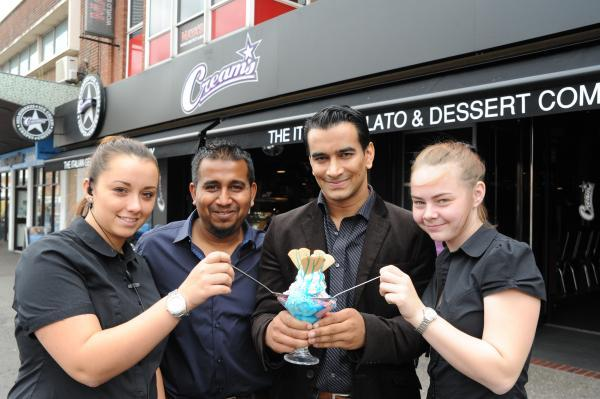 New ice cream parlour for Southend