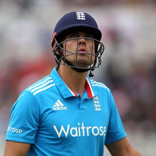 Alastair Cook's side fell to another disappointing defeat