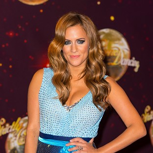 Strictly celebs bring the glamour
