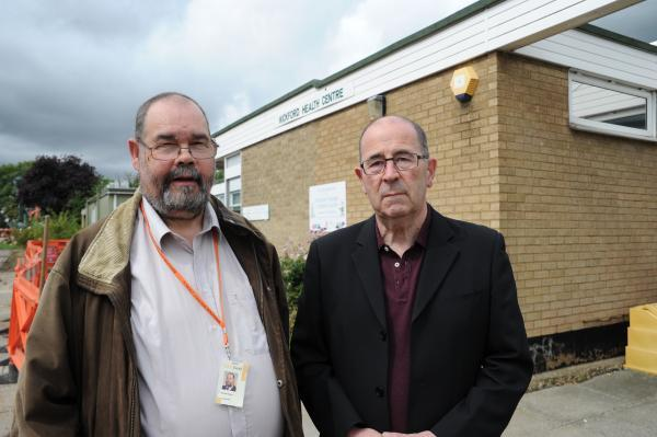 Joint effort – Tory Michael Mowe and Ukip councillor David Harrison