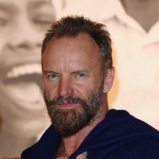 Sting to be honoured by president