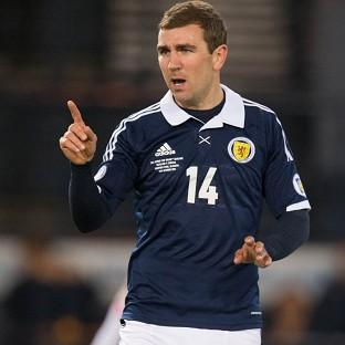 James McArthur wants Scotland to prove a point when they face Germany
