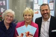 Faith and friendship - Margaret Knight, Pam Rhodes and the Rev Jon Stannard