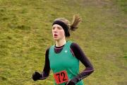 Gemma Holloway on her way to winning the senior girls race