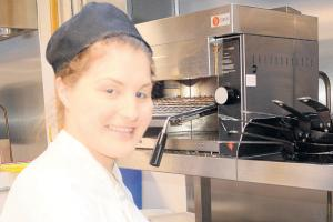Catering trainees have pick of jobs menu