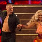 Southend Standard: He puts the boy in flamboyant! Viewers could not get over Judge Rinder's energetic first Strictly dance
