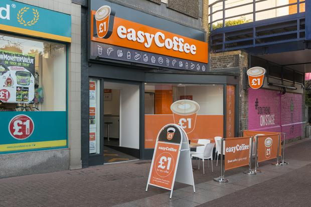 Southend Standard: easyCoffee queue