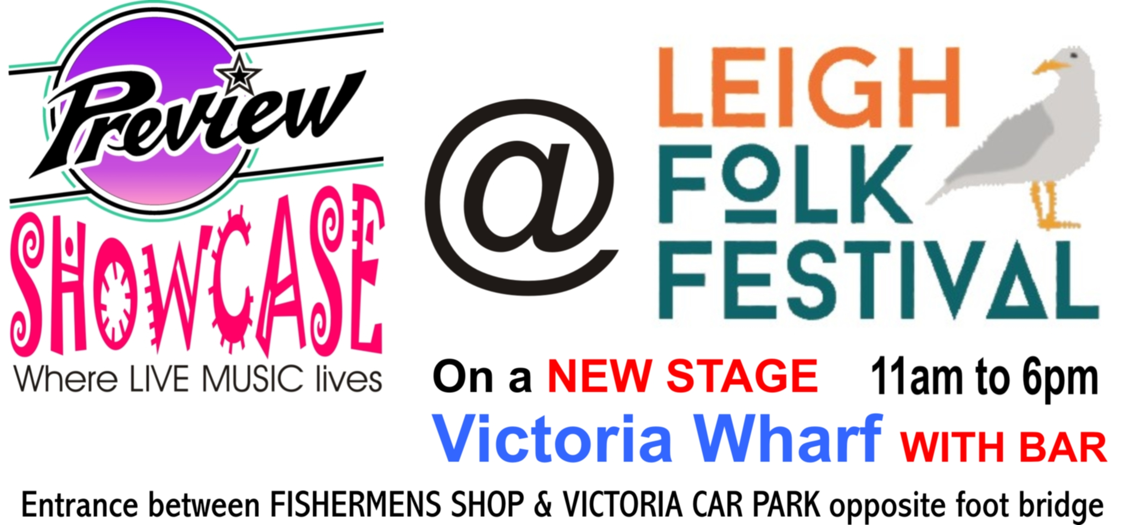 PREVIEW showcase @ THE LEIGH FOLK FESTIVAL