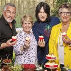 Southend Standard: Bake Off team take a break from filming as tent temperatures reach boiling point
