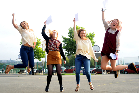 Live: A Level results day