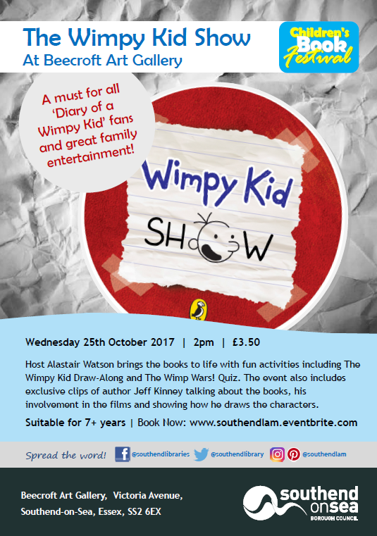 Children's Book Festival: The Wimpy Kid Show