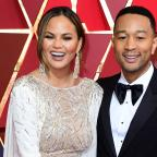 Southend Standard: Chrissy Teigen traded John Legend's pants with fans for brown bananas (Ian West/PA)