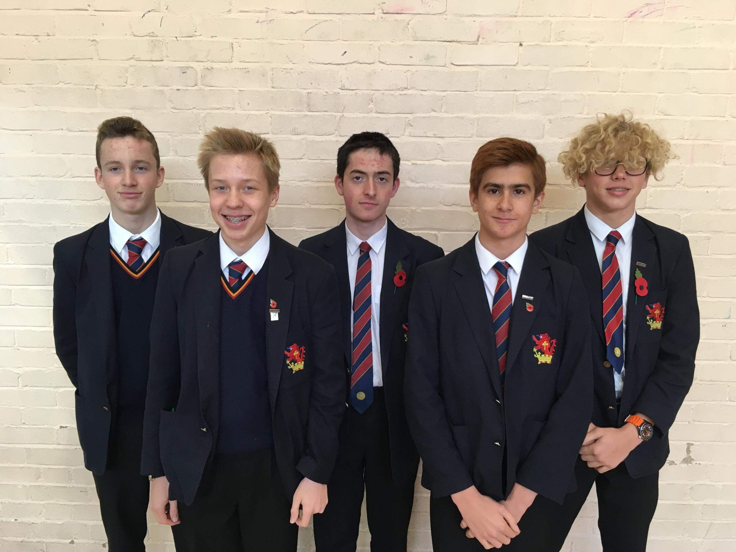 Westcliff High School for boys make it to national swimming finals