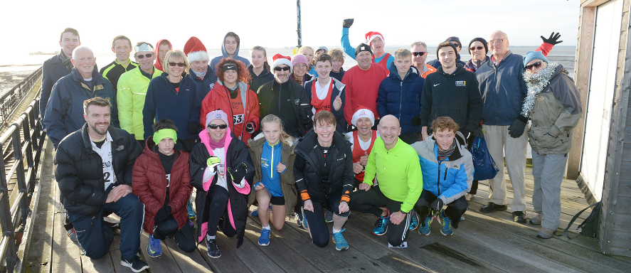 Out in force - Southend Athletics Club members competed in the Boxing Day Pier Handicap Race		    Picture: AL UNDERWOOD