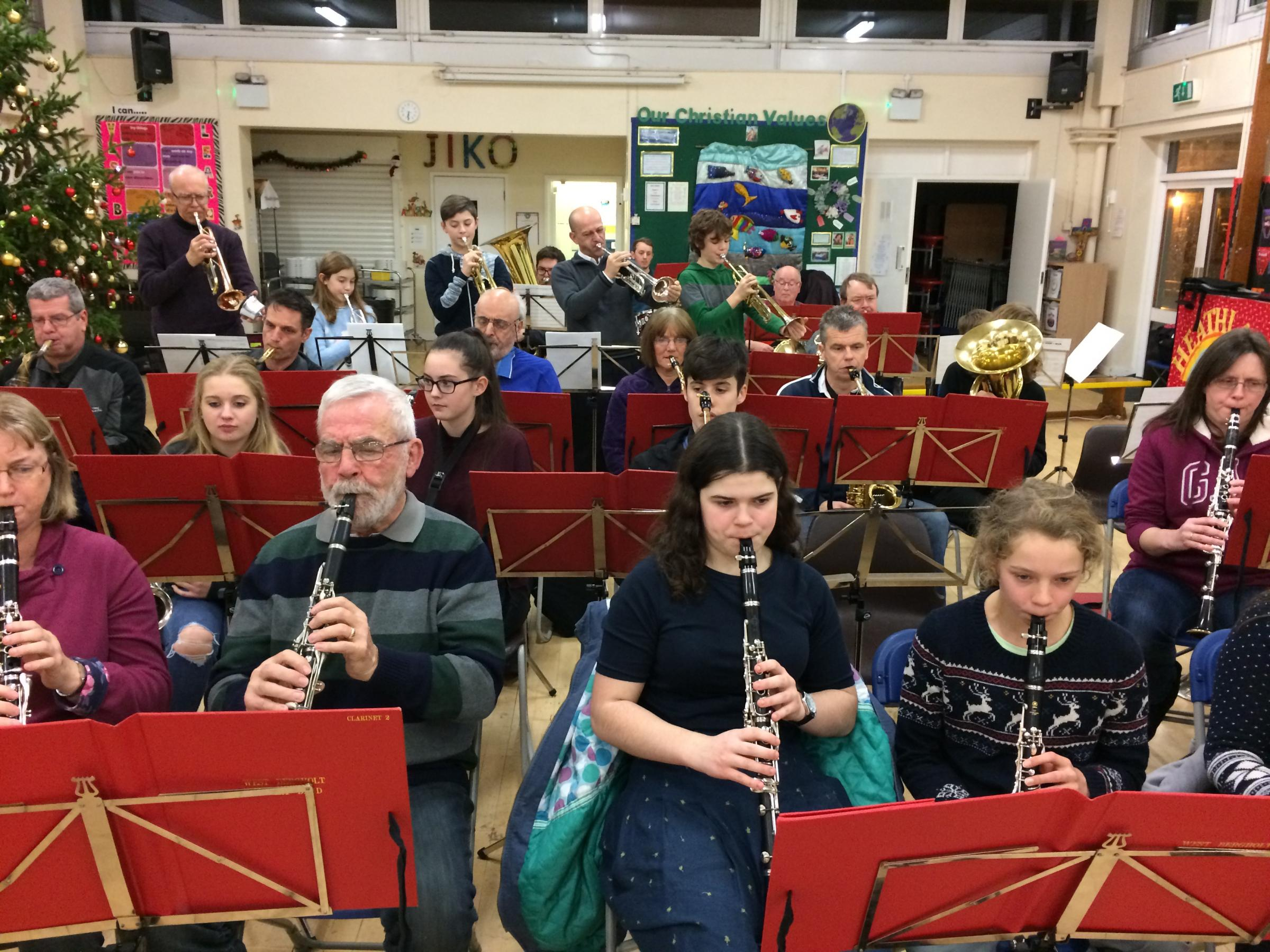 Free Open Rehearsal for Brass & Woodwind Musicians