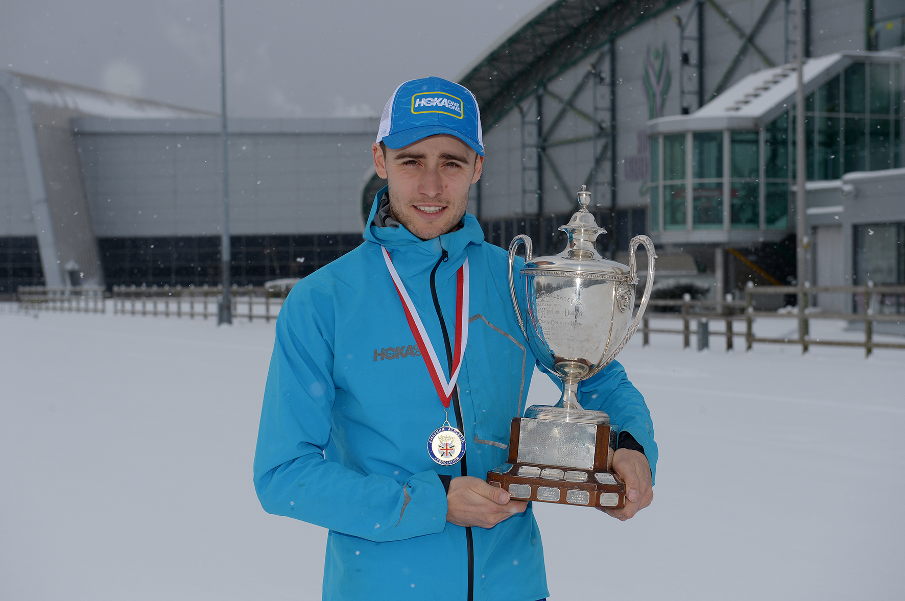 National champion - Southend's Adam Hickey