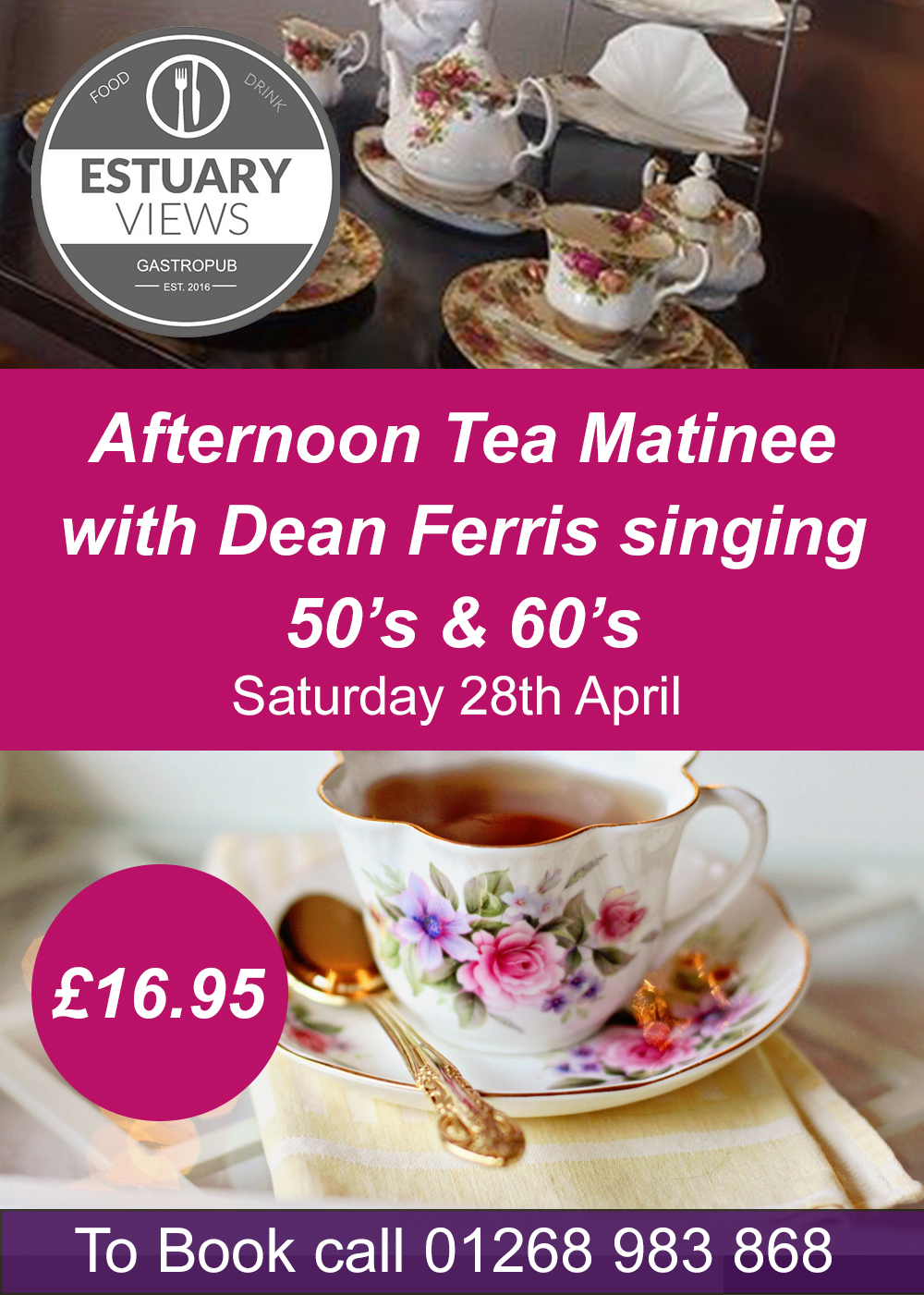 Afternoon Tea Matinee with Dean Ferris