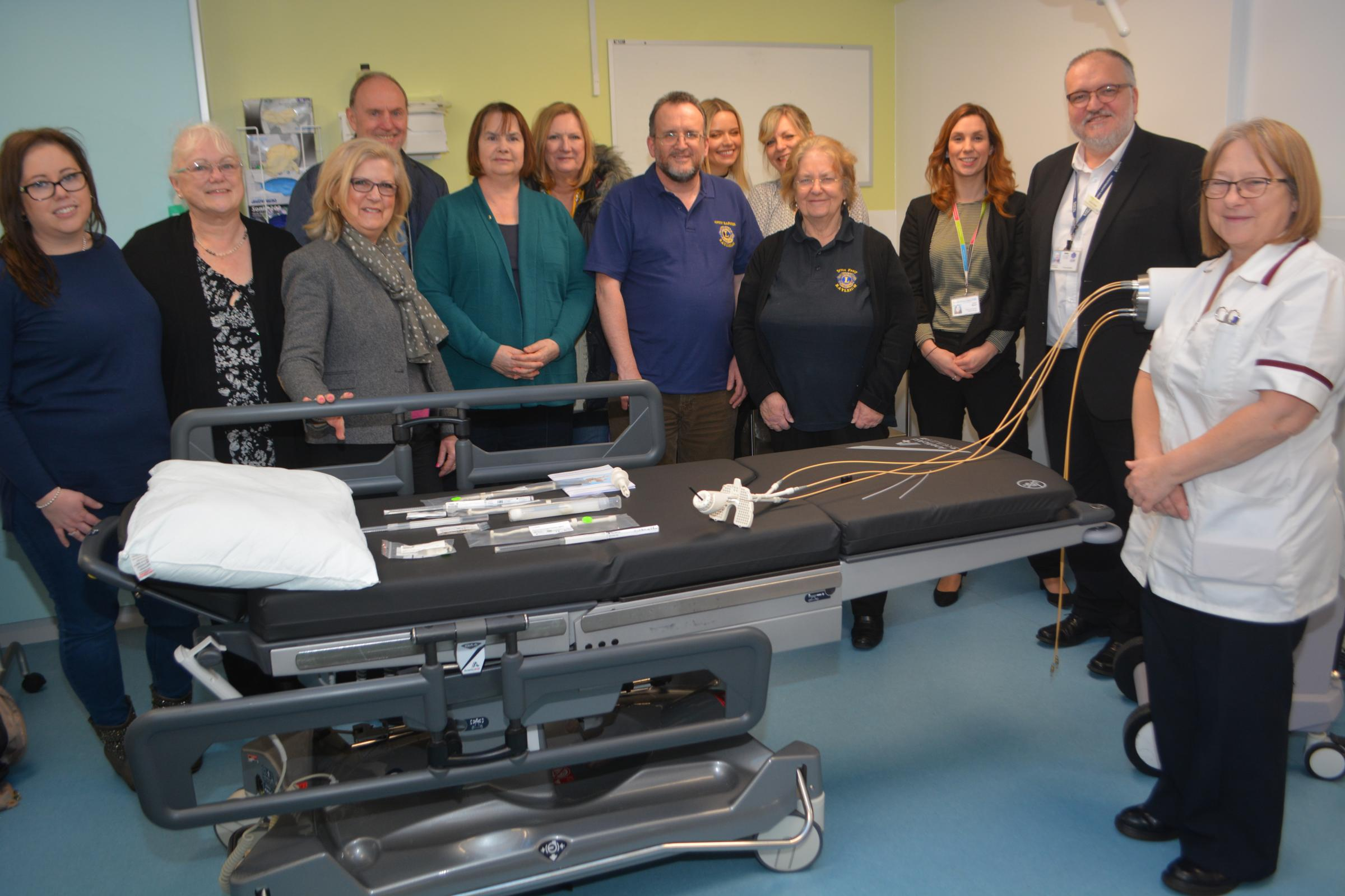 Fundraising - Southend University Hospital is the first Trust in the country to use a £30,000 state-of the-art Venezia applicator for gynaecological cancer treatment
