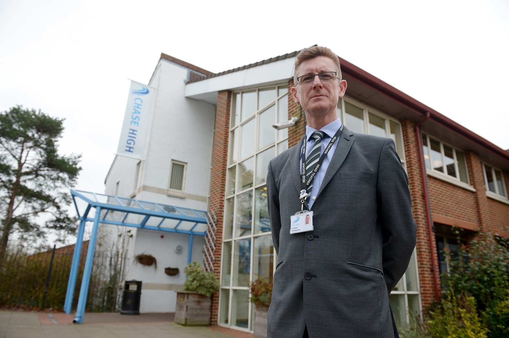 Headteacher Andrew James - Chase High School, Prittlewell Chase, Southend-on-Sea, Westcliff-on-Sea.